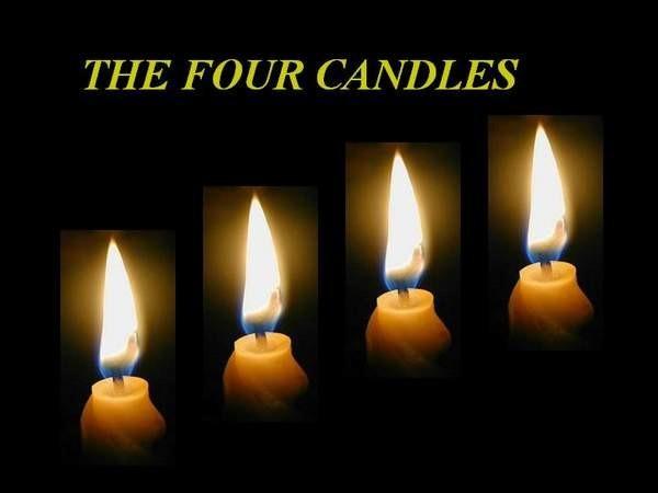 پاورپوینت 4 شمع